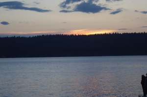 Sunset on McCall